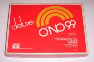 DELUXE ONO 99 Card Game from UNO, Cards, Chips, Ins