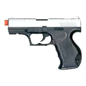 Spring Walther P99 Pistol FPS 200, Two Tone Airsoft Gun