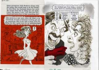 SAM VIVIANO   MAD #304 JULIA ROBERTS ORIG ART P. Bergen