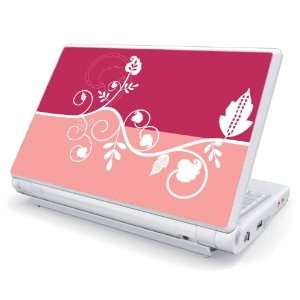 Pink Abstract Flower Decorative Skin Cover Decal Sticker for Asus Eee