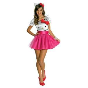 Lets Party By Rubies Hello Kitty   Hello Kitty Tutu Dress Teen Costume