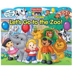 the Zoo (Fisher Price Little People) [Board book] Ellen Weiss Books