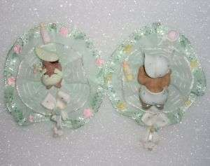 BABY SHOWER MOMMY CORSAGE AFRICAN AMERICAN BOY or GIRL PINK, BLUE or