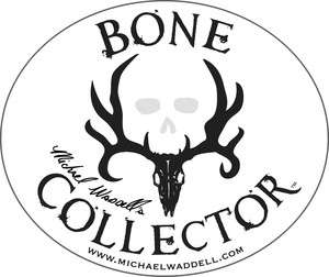 Bone Collector ~ Mike Waddell ~ WINDOW DECAL TRUCK AUTO