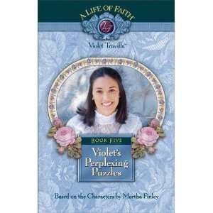 Violets Perplexing Puzzles Book 5 (A Life of Faith