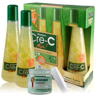 Shampoo Cre C Max Ahora Con Gingseng   Cre C Max Now With Gingseng