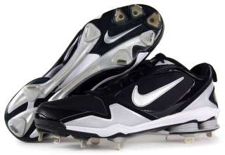 Mens NIKE Air SHOX FUSE 2 Baseball Metal Cleats Shoes SIZE 9.5   NEW