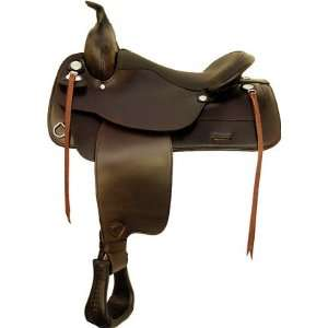 Tex Tan Waverly Flex Trail Saddle Sports & Outdoors