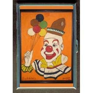 KL JOHN WAYNE GACY BUBBLES CLOWN ID CREDIT CARD WALLET CIGARETTE CASE