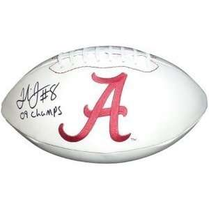 Julio Jones Autographed/Hand Signed Alabama Crimson Tide