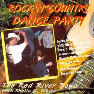 RED RIVER BOYS Rock n Counry Dance Pary cassee Red