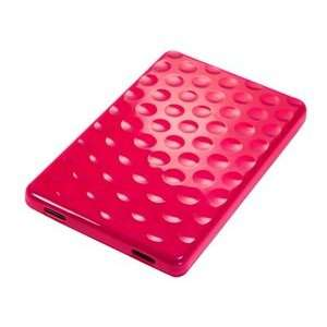 Hot Pink Color TPU Hard Case for Kindle Fire + Bluecell Cable Tie