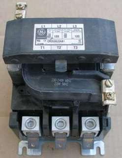 GE CR353 GJ3AB1 Definite Purpose Contactor 120 Amp