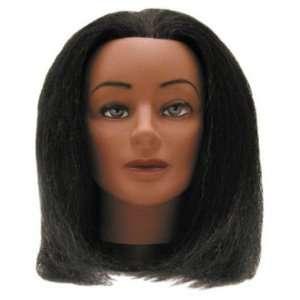 Hair Art Yak Hair 12 Black Yak Mannequin 12 Beauty