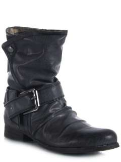 NEW MADDEN GIRL GUESSER Casual Women Cuffed Western Ankle Boot Bootie