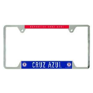 MLS Club Deportivo Cruz Azul Metal License Plate Frame