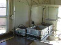 BBQ Smoker Grill Enclosed Kitchen Concession Trailer