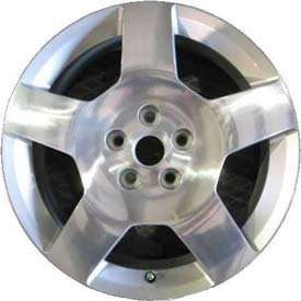17 Chevy Cobalt 06 10 OEM Polished Wheels 9595089