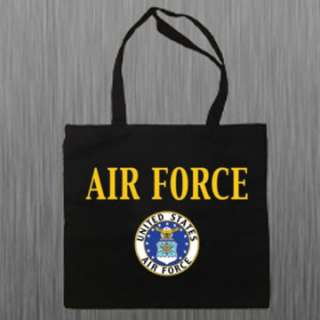 US United States Air Force USAF Canvas Tote Book Bag