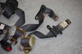 Black Seat Belts OEM Twin Turbo stock undamaged JZA80 usdm