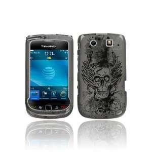 BlackBerry Torch 9800 Graphic Case   Vintage Skull (Free