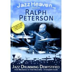Jazz Drum Lesson DVD Ralph Peterson Jazz Drumming