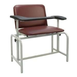Extra Large Blood Drawing Chair Color Royal Blue, Style