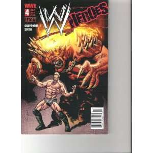 : WWE Heroes Comic Jericho Cover (Cover B, July 2010 Number 4): Books