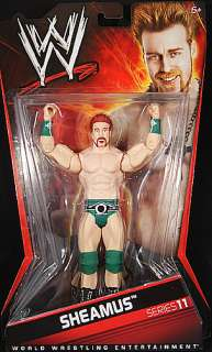 SHEAMUS WWE SERIES 11 TOY WRESTLING ACTION FIGURE