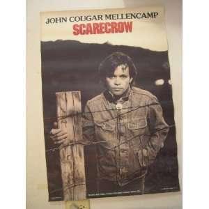 John Cougar Mellencamp Poster Scarecrow