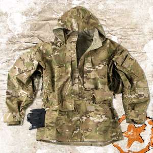 HELIKON ECWCS 100% WATERPROOF ARMY FIELD PARKA JACKET SMOCK, MULTICAM