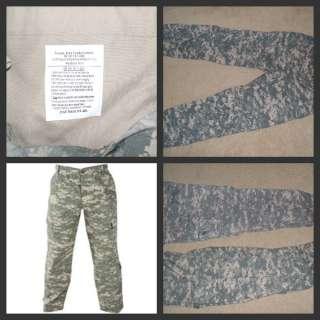 USGI Military Army Surplus ACU Army Combat Uniform Cargo Pants