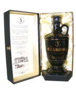 The Champion Scotch Whisky Wade Decanter   LIMITED EDITION
