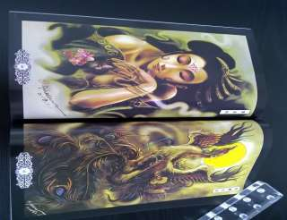 RARE TATTOO FLASH BOOK ART MAGAZINE FROM CHINA ZGY