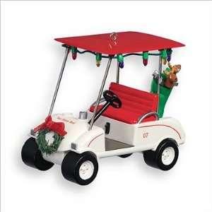 Tee time taxi golf cart Hallmark keepsake Christmas tree ornament 2007