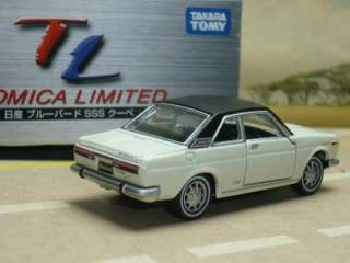 new TL 138 NISSAN BLUEBIRD SSS TOMICA LIMITED TOMY