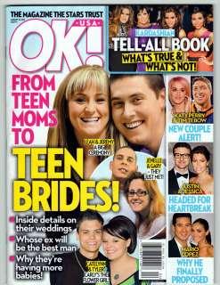 OK MAGAZINE JANUARY 23 2012 TEEN MOM KATY PERRY OLIVIA WILDE SELENA