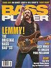 BASS PLAYER Guitar Magazine 5/2011 Lemmy Jack Bruce Pino Paladino