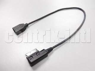USB Audi Music Interface AMI MMI AUX Cable for Audi A3 A4 S4 A5 S5 A6