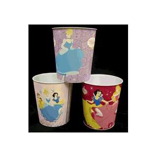 Disney Princesses Cinderella Metal Trash Can *SALE*