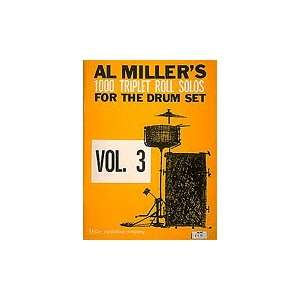 Solos for the Drum Set Triplet Roll Solos, Vol. 3 Musical Instruments