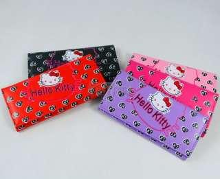 New HelloKitty Face Girls Long Wallet Clutch Card Bag Purse Birthday