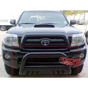 05 11 Toyota Tacoma Bull Bar Black Coated Carbon Steel