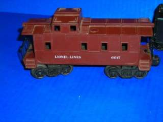 Vintage Lionel Train Set HO Scale 246 Locomotive Coal Tender