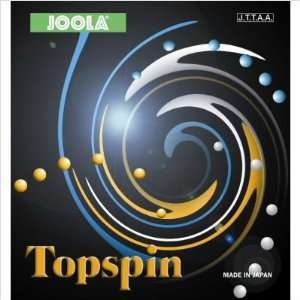 Topspin Table Tennis Blade Rubber Thickness 2.0, Color
