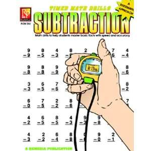 REMEDIA PUBLICATIONS TIMED MATH FACTS SUBTRACTION