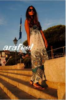 Beach MAXI Boho Hippie Summer DRESS Long Womens holiday