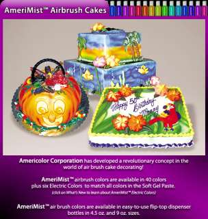 Cake Decorating Airbrush Food Coloring Kit 12 4 5 Color
