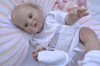 ♥♥ Prem ♥♥ Blonde Realistic Reborn Baby Girl Maya