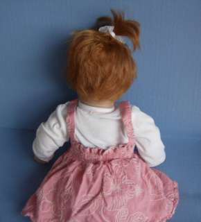 Baby so Real Reborn Doll Reddish hair, blue eyes 17
